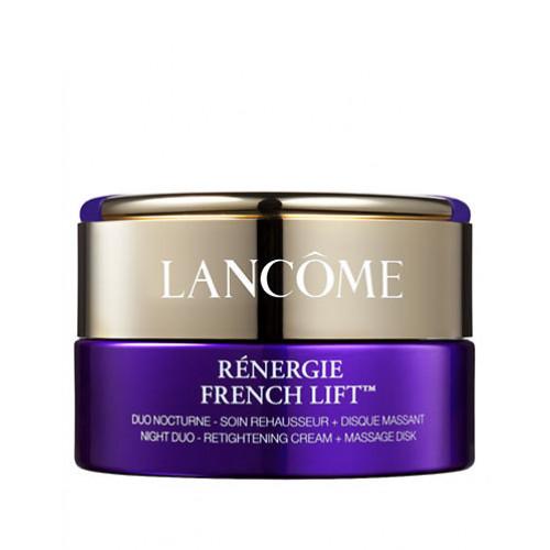 Lancome Renergie French Lift Night Duo - Retightening Cream + Massage Disk 50ml Gezichtscrème