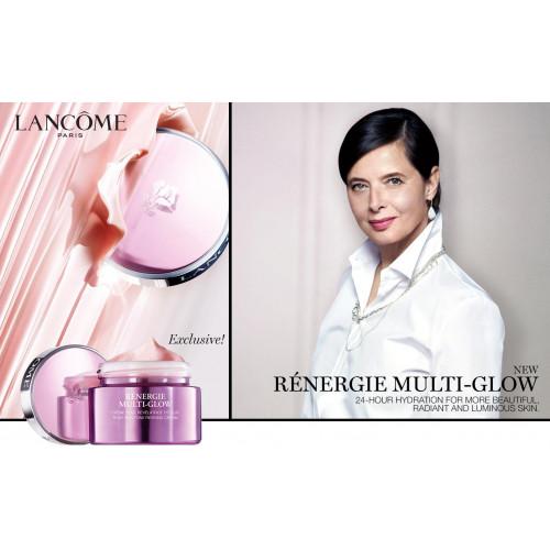 Lancome Renergie Multi-Glow set 50ml Dagcreme + Lait Galatee Confort 50ml + Advanced Genifique Serum 7ml