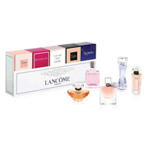 LancomeThe Best of Lancome Fragrances Miniaturen Set 3 x 5ml edp + 1 x 7,5ml edp + 1 x 4ml edp