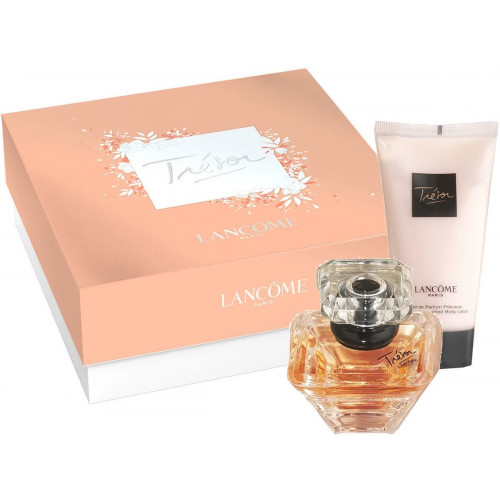 Lancome Tresor Set 30ml eau de parfum spray + 50ml Bodylotion