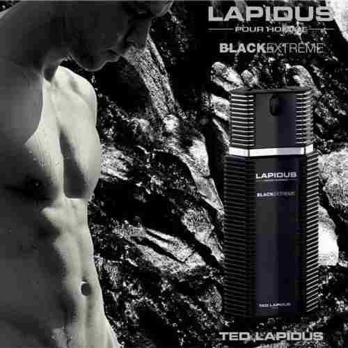 Ted Lapidus Black Extreme 100ml eau de toilette spray