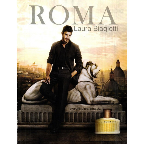 Laura Biagiotti Roma Uomo 75ml eau de toilette spray
