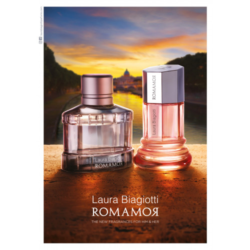 Laura Biagiotti Romamor 100ml eau de toilette spray