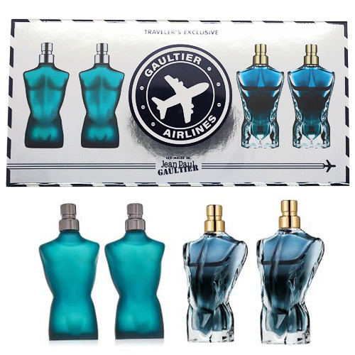 Jean Paul Gaultier Heren Miniaturen Set 4-delig Le Male (Le Male, Le Beau)