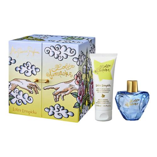 Lolita Lempicka Mon Premier Parfum Set 100ml eau de parfum spray + 100ml Bodylotion + 7,5ml edp miniatuur
