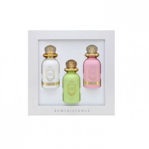 Reminiscence Les Notes Gourmandes Set 3x 50ml  edp Dragée  Guimauve Heliotrope