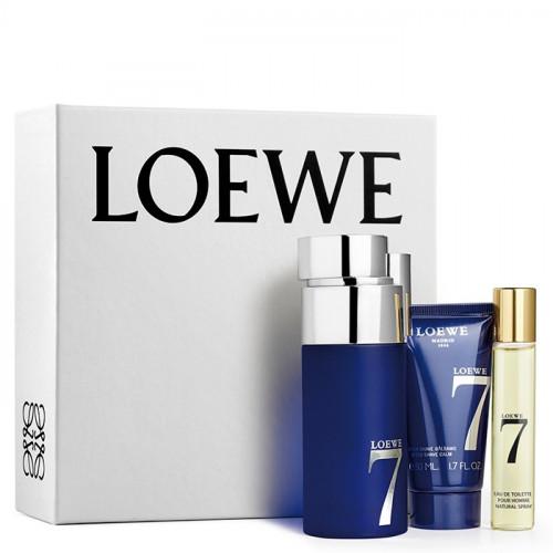 Loewe 7 Set 100ml Eau De Toilette Spray + 50ml Aftershave Balsem + 20ml edt