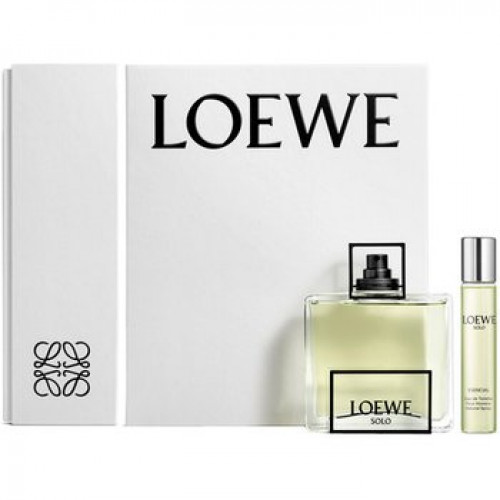 Loewe Solo Esencial Set 100ml eau de toilette spray + 20ml edt