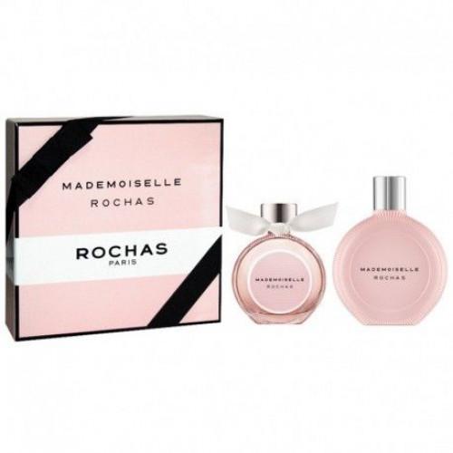 Rochas Mademoiselle Rochas Set 50ml Eau De Parfum Spray + 50ml Bodylotion + 50ml Showergel