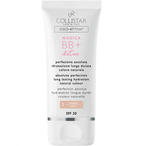 Collistar Magica BB+ Detox SPF20 BB Cream 50ml - 1 Light