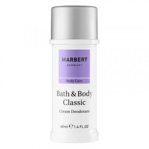 Marbert Bath & Body Classic Cream Deodorant 40ml