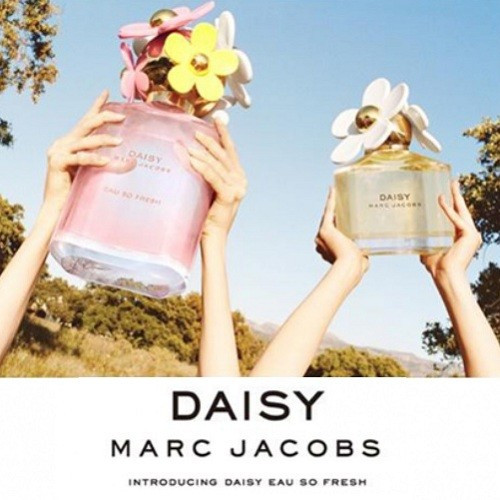 Marc Jacobs Daisy Eau So Fresh Set 75ml edt + 75ml Bodylotion + 75ml showergel
