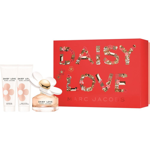 Marc Jacobs Daisy Love Set 50ml eau de toilette spray + 75ml Bodylotion + 75ml Showergel