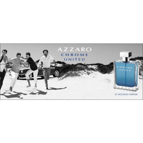 Azzaro Chrome United Set 100ml eau de toilette spray + 30ml edt