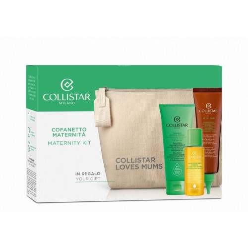 Collistar Maternity Set Anti Stretch Marks Concentrate +Talasso Shower Cream +Precious Body Oil