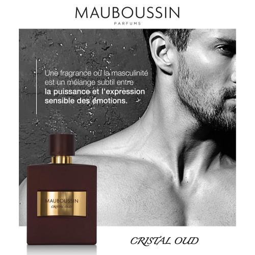 Mauboussin Cristal Oud 100ml eau de parfum spray
