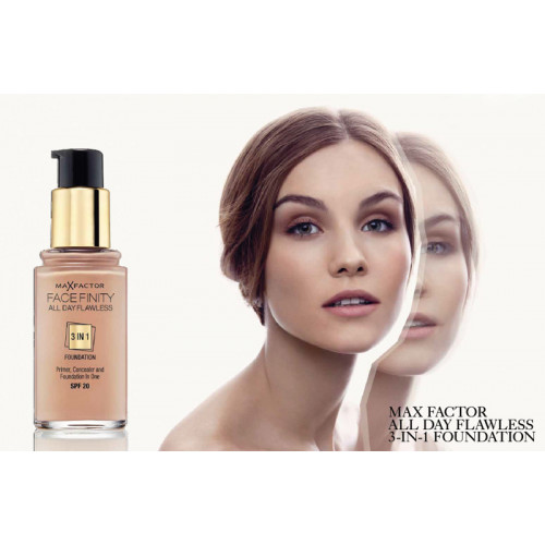 Max Factor Facefinity 3 in 1 Foundation 65 rose beige