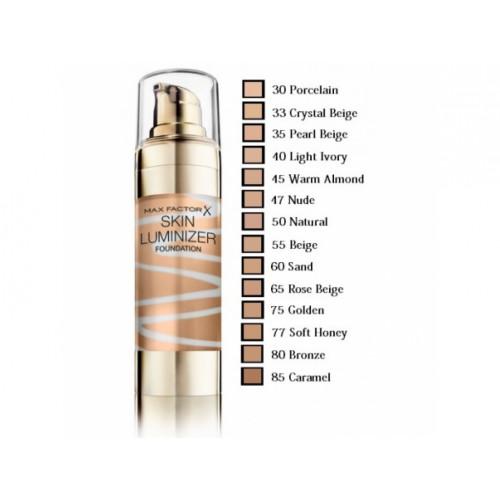 Max Factor Skin Luminizer Foundation 40 Light Ivory