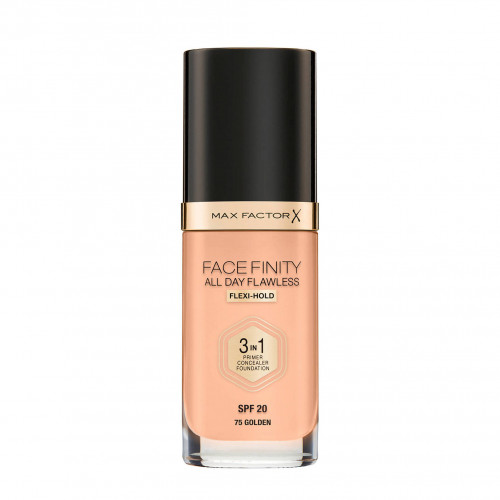 Max Factor Facefinity All Day Flawless 3 in 1 Foundation spf 20 75 golden
