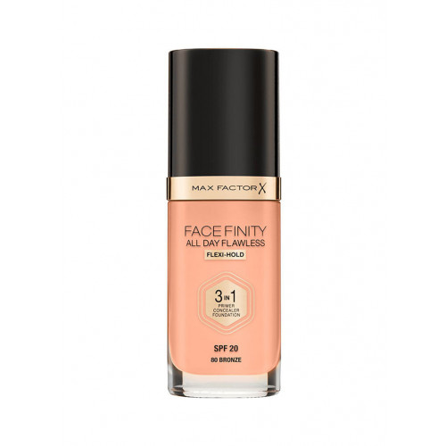 Max Factor Facefinity All Day Flawless 3 in 1 Foundation spf 20 80 bronze