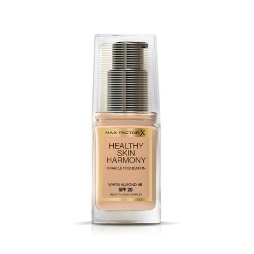 Max Factor Healthy Skin Harmony Miracle Foundation 45 Warm Almond spf 20