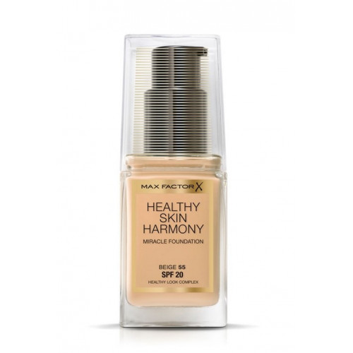 Max Factor Healthy Skin Harmony Miracle Foundation 55 Beige spf 20