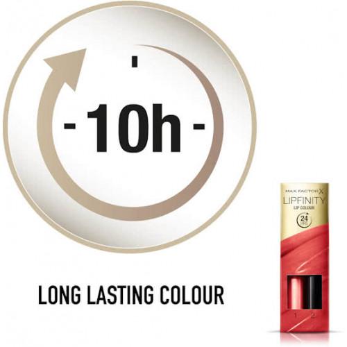 Max Factor Lipfinity Lip Colour 142 Evermore Radiant