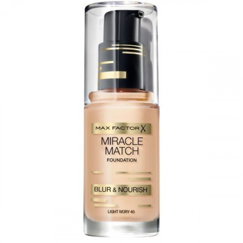Max Factor Miracle Match Foundation 40 Light Ivory