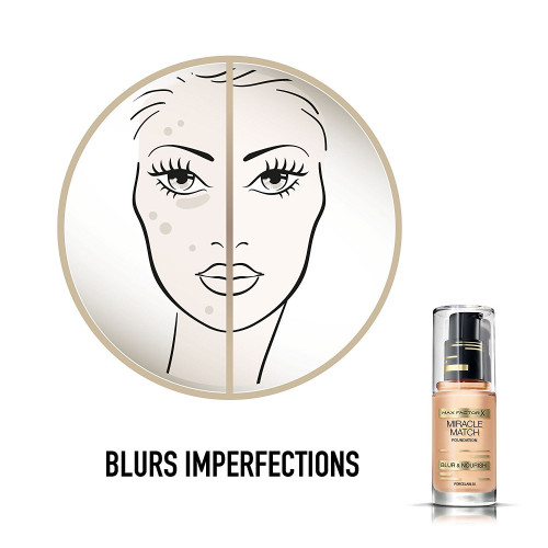 Max Factor Miracle Match Foundation 60 Sand