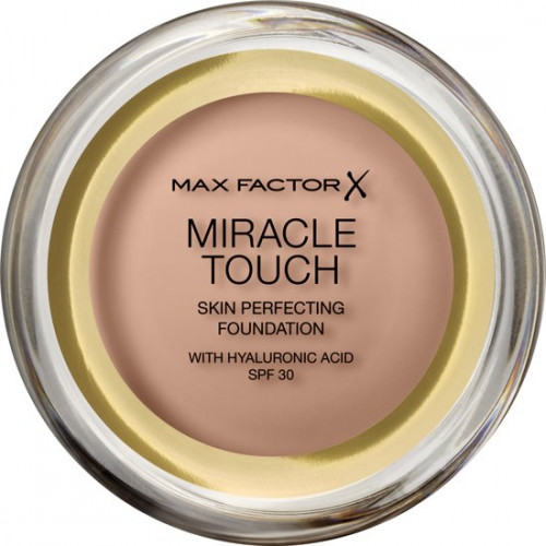 Max Factor Miracle Touch Skin Perfecting Foundation spf 30 70 Natural met Hyaluronic Acid