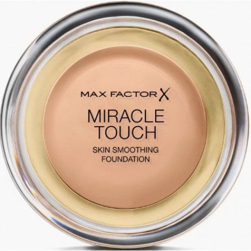 Max Factor Miracle Touch Skin Smoothing Foundation 45 Warm Almond