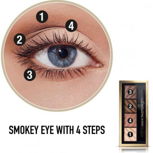 Max Factor Smokey Eye Matte Drama Kit 10 Alluring Nude