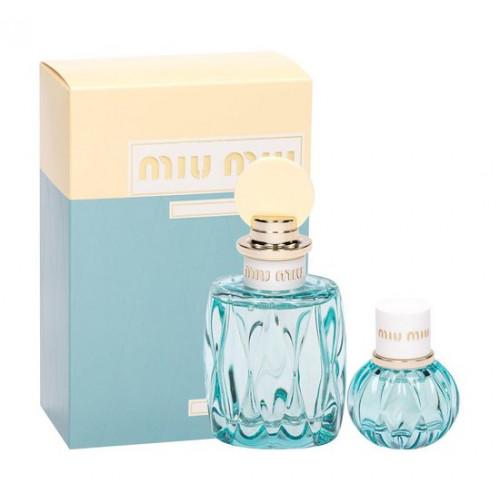 Miu Miu L'Eau Bleue Set 100ml eau de parfum spray + 20ml edp