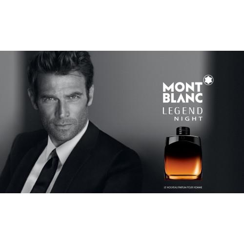 Mont Blanc Legend Night 4,5ml eau de parfum miniatuur