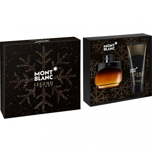 Mont Blanc Legend Night Set 50ml eau de parfum spray + 100ml Showergel