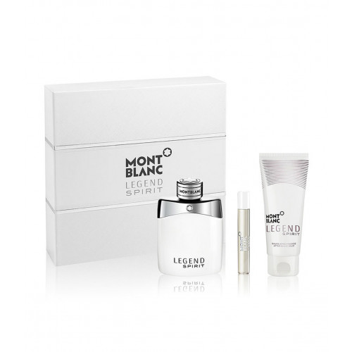 Mont Blanc Legend Spirit Set 100ml eau de toilette spray + 100ml Aftershave Balsem + 7,5ml edt