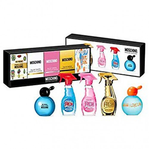 Moschino Miniaturen Set 5-delig Fresh Couture Cheap and chic