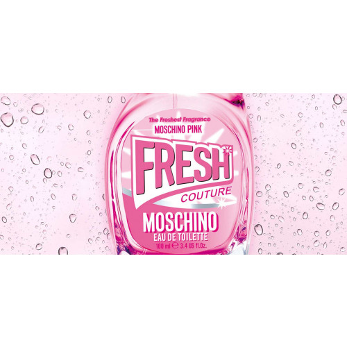Moschino Pink Fresh Couture 100ml eau de toilette spray