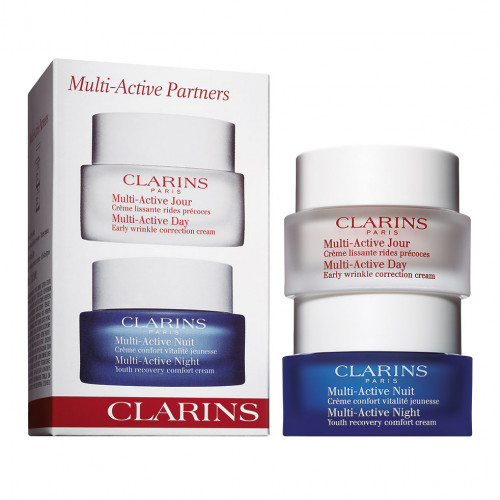 Clarins Multi-Active Set Multi-Active Jour 50ml +  Multi-active Nuit 50ml