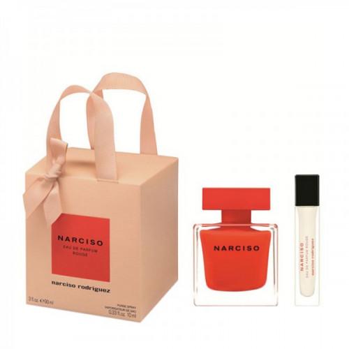 Narciso Rodriguez Narciso Rouge Set 90ml eau de parfum spray + 10ml edp