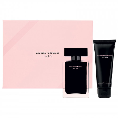 Narciso Rodriguez for Her Set 50ml eau de toilette spray + 75ml Bodylotion