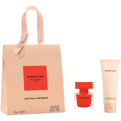 Narciso Rodriguez Narciso Rouge Set 30ml eau de parfum spray + 75ml Bodylotion