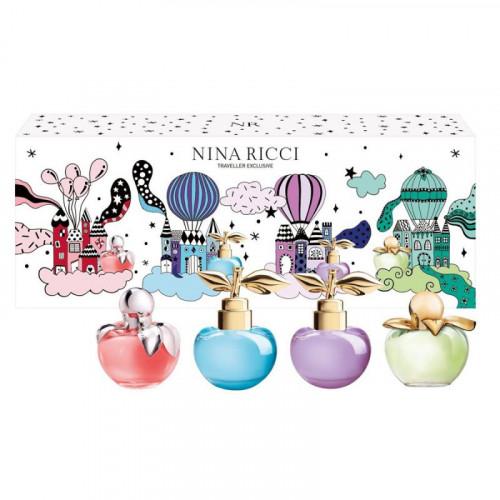 Nina Ricci Nina Miniaturen Set 4-delig