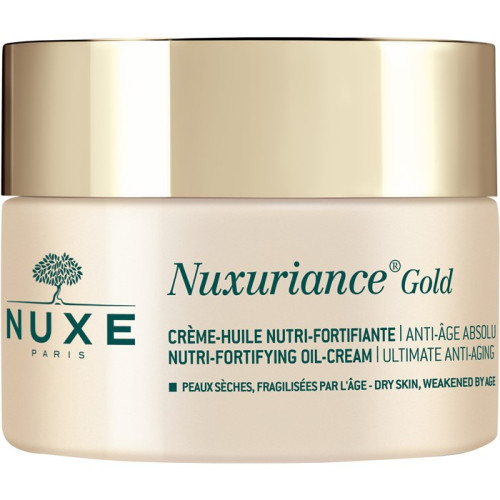 Nuxe Nuxuriance Gold Nutri-Fortifying Oil-Cream 50ml Gezichtscrème