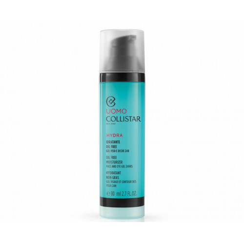 Collistar Uomo Oil Free Moisturizer Face and Eye Gel 24h 80ml Dagcrème
