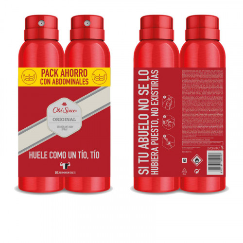 Old Spice Original Duo verpakking 2 x 150ml Deodorant Spray