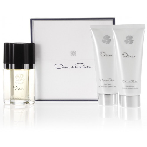 Oscar de la Renta Set 100ml eau de toilette spray + 100ml showergel + 100ml bodylotion