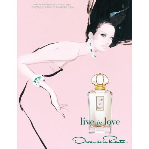 Oscar de La Renta Live in Love 100ml eau de parfum spray