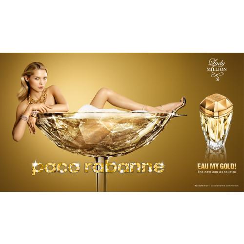Paco Rabanne Lady Million Eau My Gold 80ml eau de toilette spray