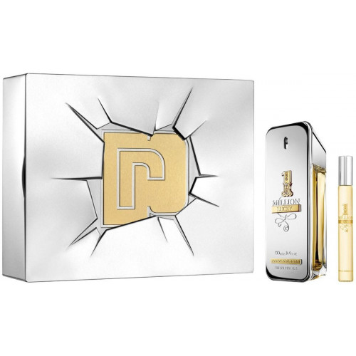 Paco Rabanne 1 Million Lucky Set 100ml eau de toilette spray + 10ml edt tasspray